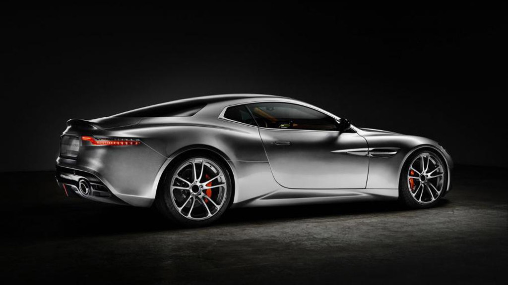 Aston Martin Vanquish-based 'Thunderbolt' from Henrik Fisker Design and Galpin Auto Sports
