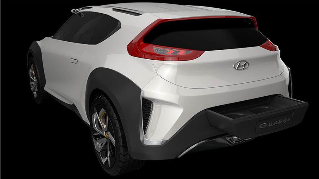 Hyundai Enduro concept, 2015 Seoul Motor Show