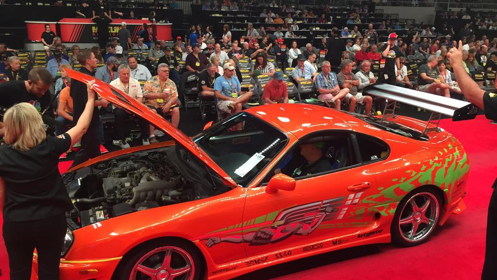 Toyota Supra The Fast And The Furious >> Original Fast And Furious Toyota Supra Sells For 185 000 At Auction