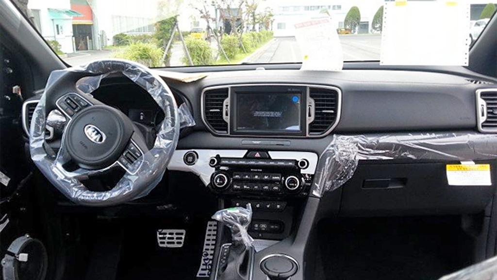 2017 Kia Sportage leaked - Image via Auto Tribune