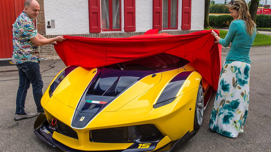Ferrari LaFerrari FXX K bought by Google executive Benjamin Sloss for wife Christine