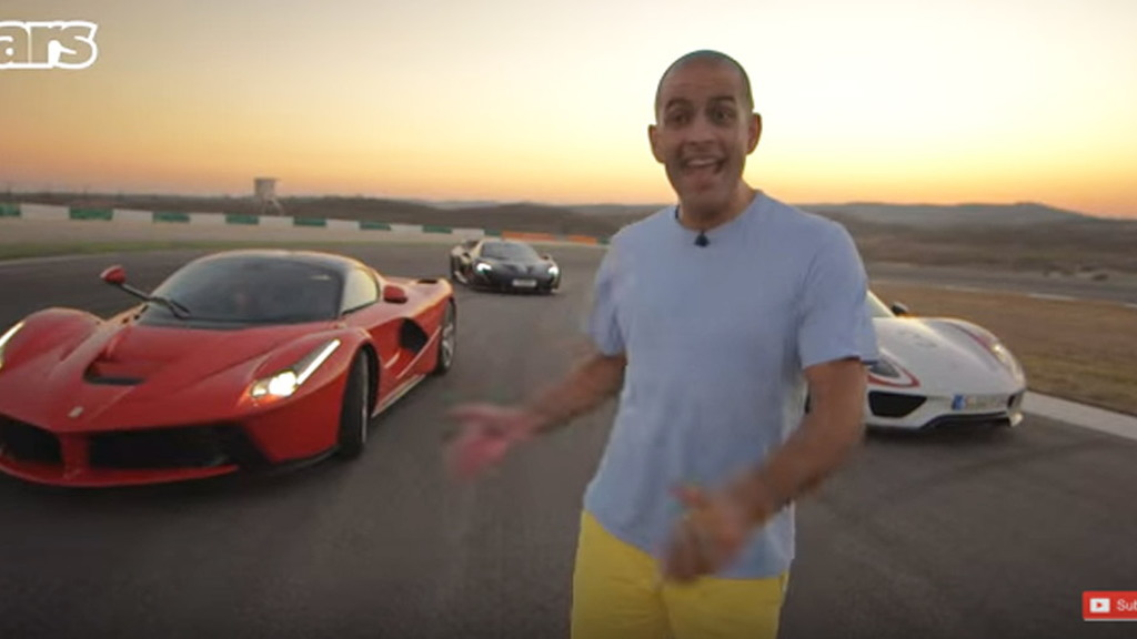 Chris Harris tests the LaFerrari, P1 and 918 Spyder
