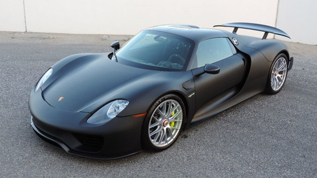 Porsche 918 Spyder for sale at Californian dealership CNC Motors