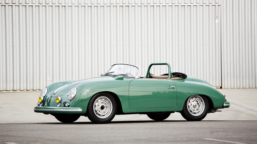 1958 Porsche 356 Carrera Speedster from the Jerry Seinfeld collection - Image via Gooding & Company