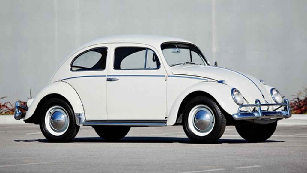 1960 Volkswagen Beetle from the Jerry Seinfeld collection - Image via Gooding & Company
