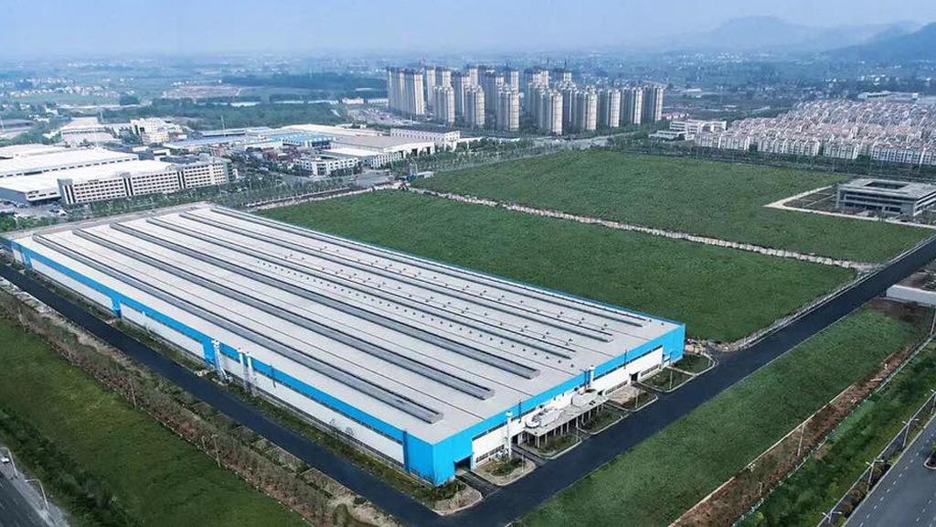NextEV electric motor plant