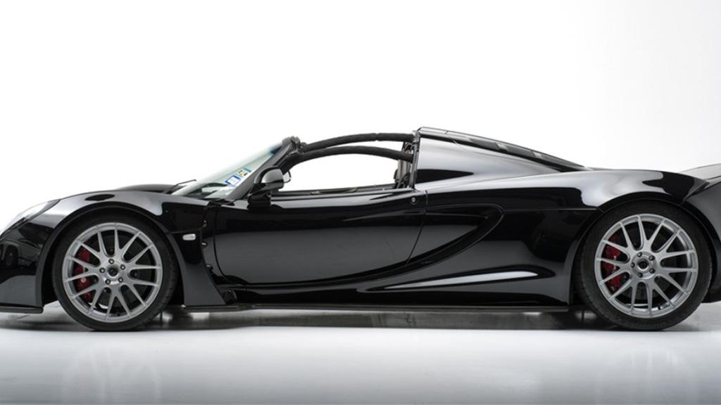 2013 Hennessey Venom GT Spyder owned by Steven Tyler