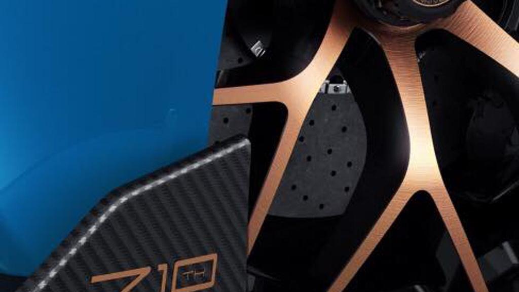 Teaser for Zenvo TS1 GT debuting at 2017 Geneva auto show