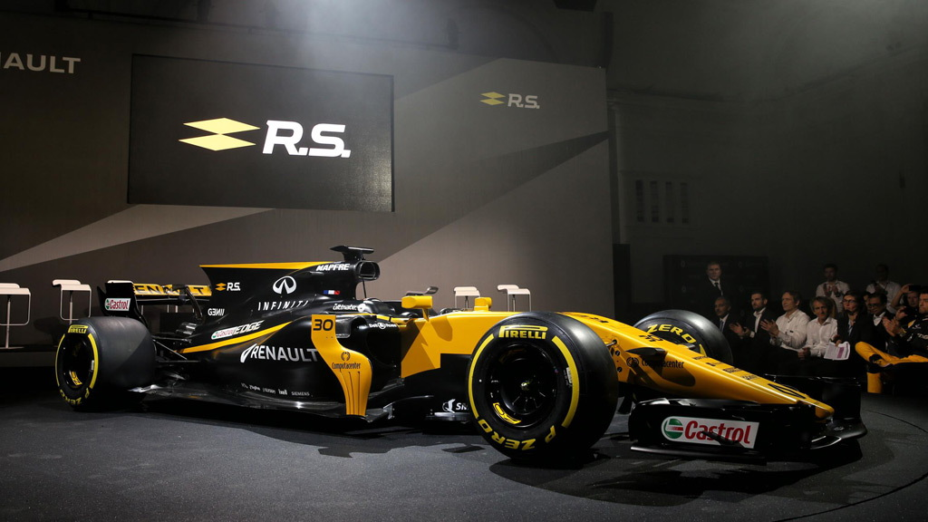 2017 Renault Sport R.S.17 Formula One race car
