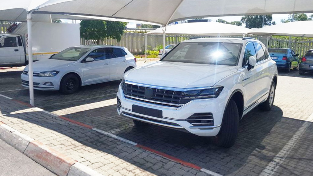 2018 Volkswagen Touareg and Polo leaked - Image via Martin Swart/CAR South Africa