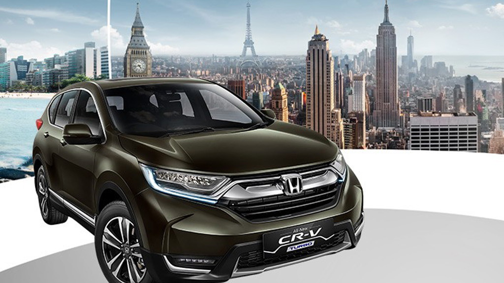 2017 Honda CR-V seven-seater (Indonesian spec)