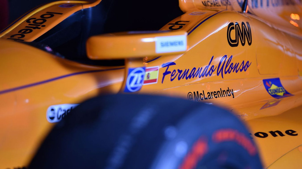 2017 McLaren-Honda-Andretti IndyCar race car
