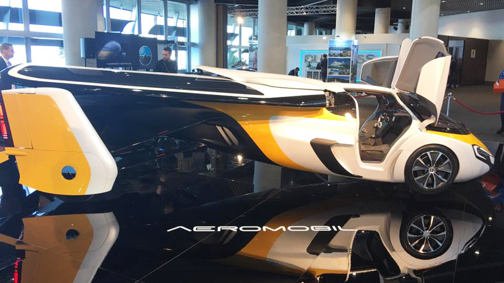 AeroMobil flying car, 2017 Top Marques Monaco