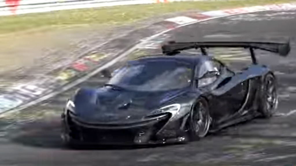McLaren P1 LM Nürburgring video