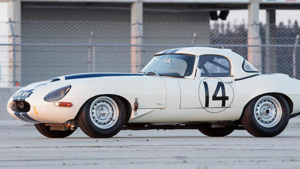 1963 Jaguar Lightweight E-Type bearing chassis number S850664 - Image via Bonhams