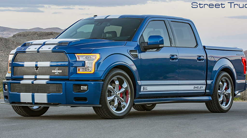 Ford Shelby Truck >> 2017 Ford Shelby F 150 Super Snake Debuts With 750 Horsepower