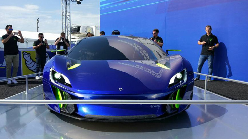 Boreas supercar concept, 2017 24 Hours of Le Mans