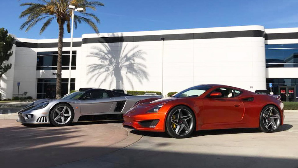 Saleen S7 LM and S1