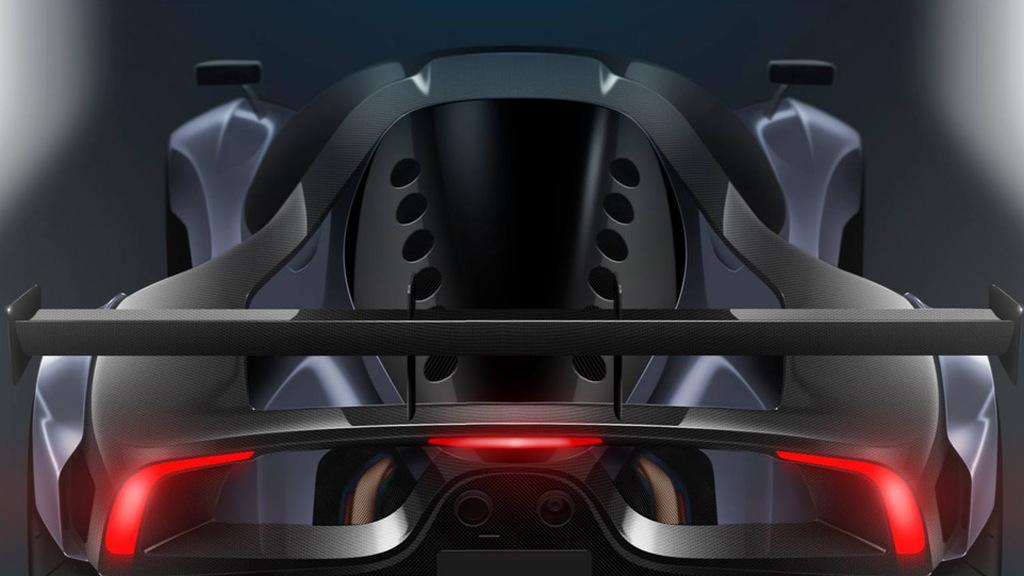 Teaser for Scuderia Cameron Glickenhaus SCG004C race car
