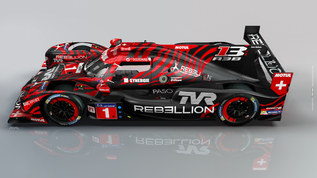 2018/2019 Rebellion Racing TVR R13 LMP1 race car