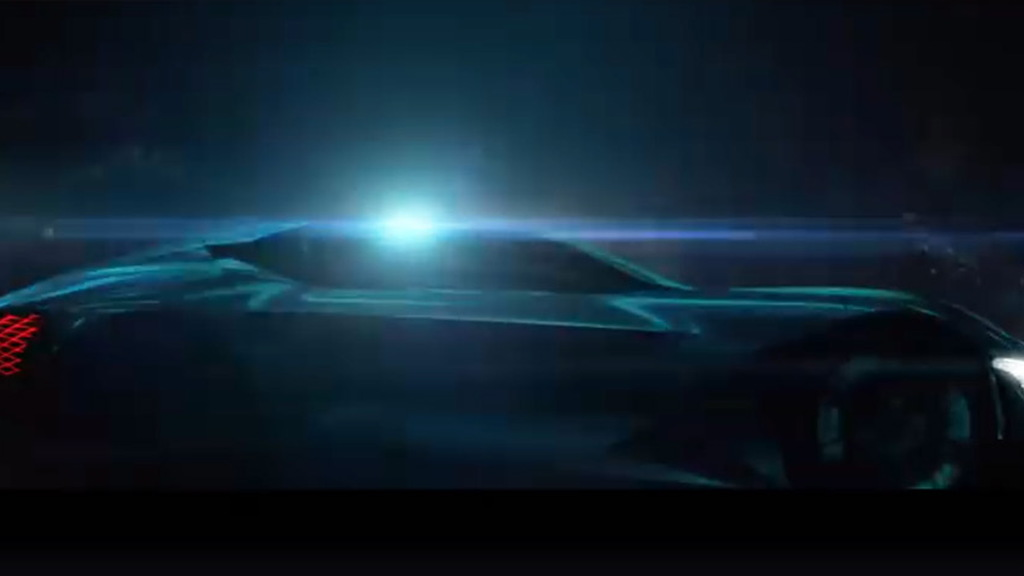 Teaser for DS DSX E-Tense concept