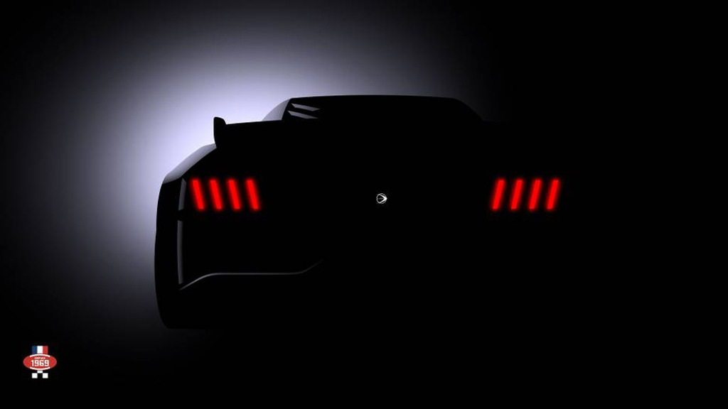 Teaser for Ligier GT race car debuting in September