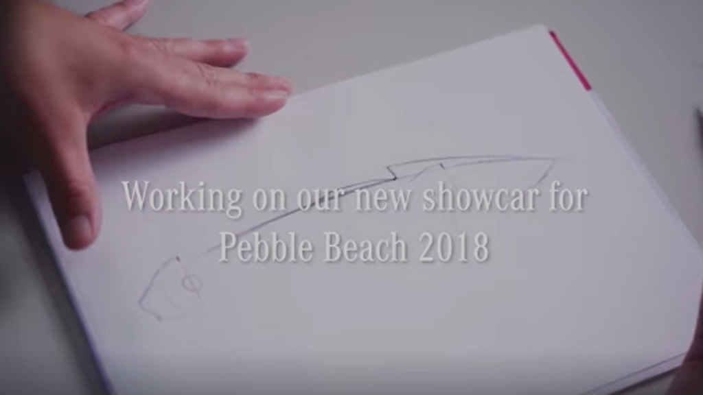 Teaser for Mercedes-Benz Aesthetics Progressive Luxury concept debuting on August 24, 2018