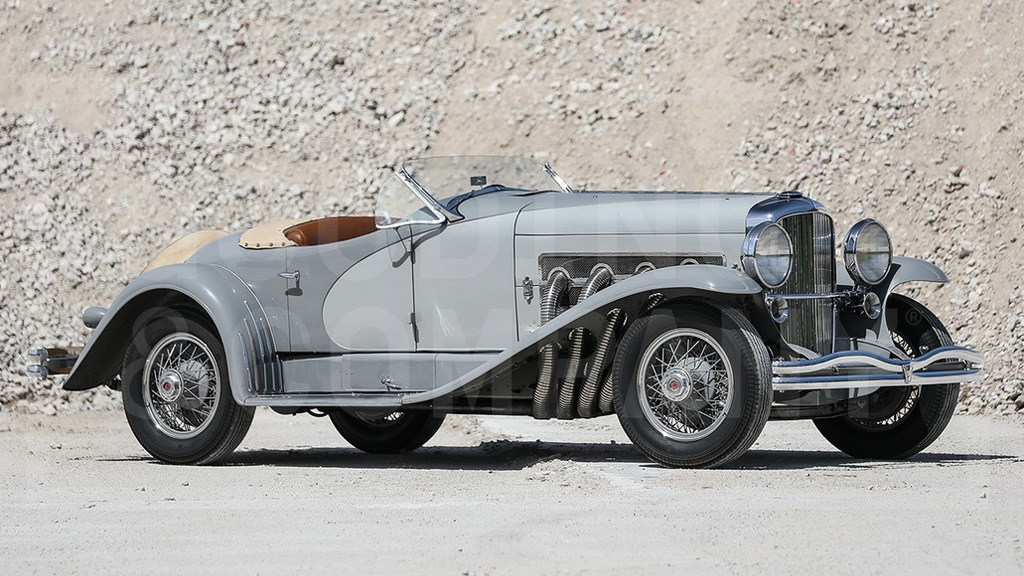1935 Duesenberg SSJ - Image via Gooding & Company