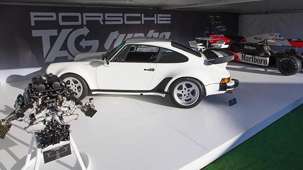 Lanzante 930 Porsche 911 powered by Tag Turbo Formula 1 engine