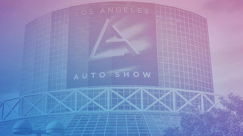 Los Angeles auto show logo