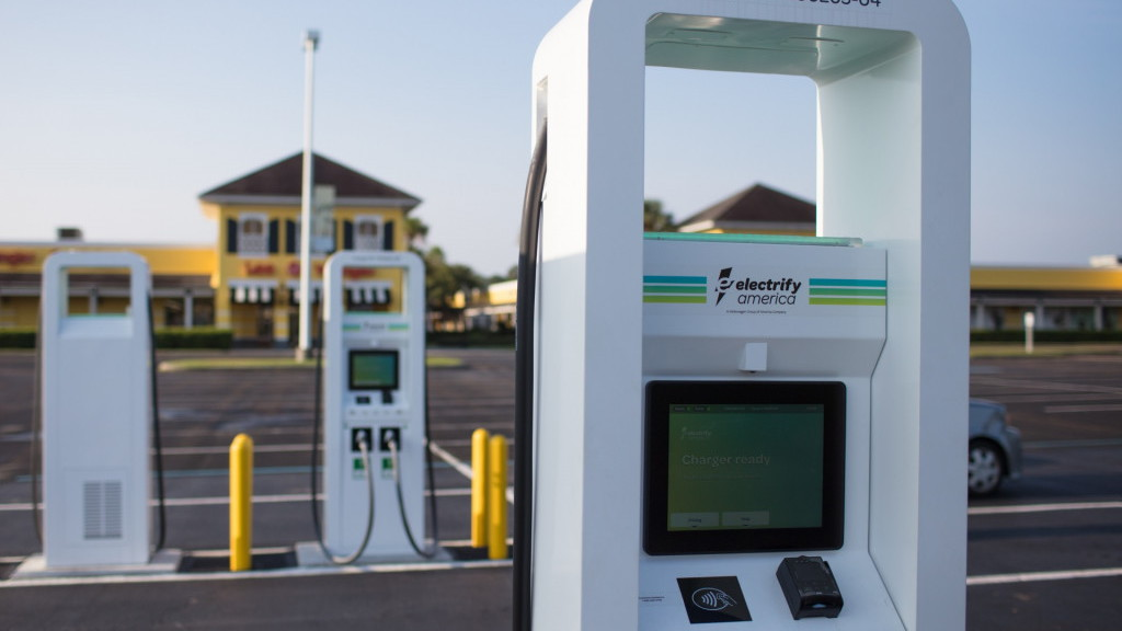 Electrify America DC fast chargers