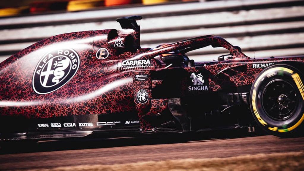 2019 Alfa Romeo C38 Formula 1 race car