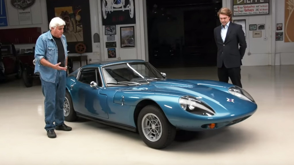 1971 Marcos GT at Jay Leno's Garage