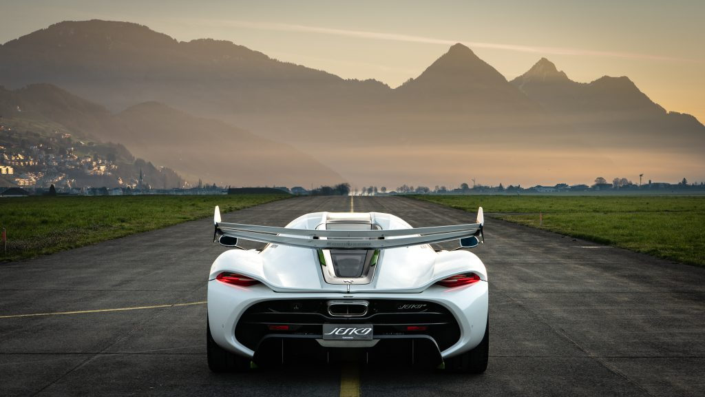 Koenigsegg Jesko world tour