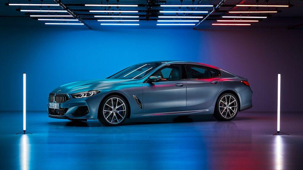 2020 Bmw 8 Series Gran Coupe Leaked Looks Stunning