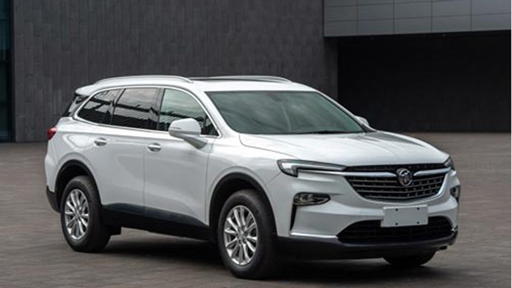 2020 Buick Enclave (Chinese-spec) leaked - Photo credit: Autohome