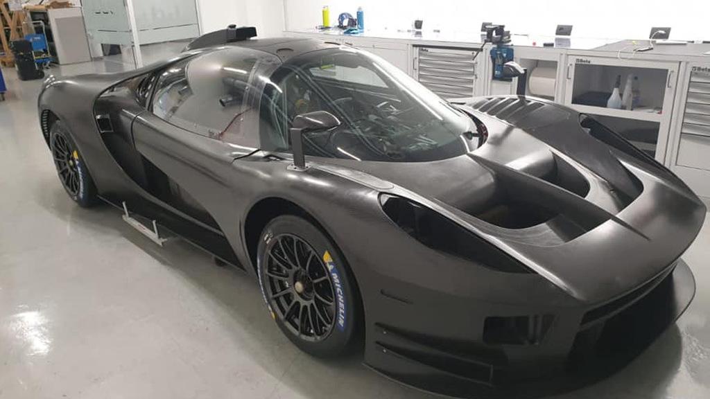 Scuderia Cameron Glickenhaus SCG 004C race car