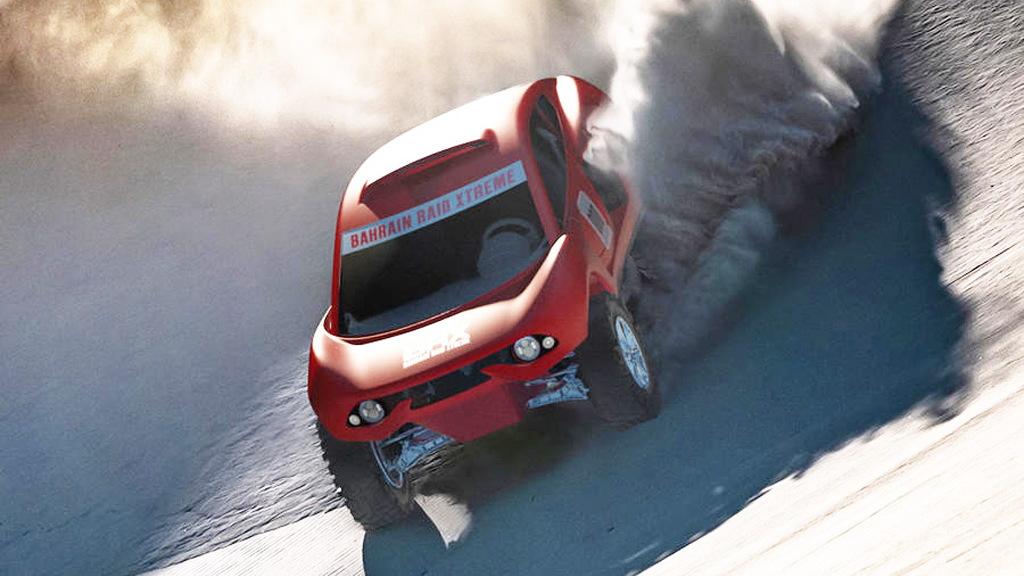 Prodrive's BRX T1 Dakar Rally contender