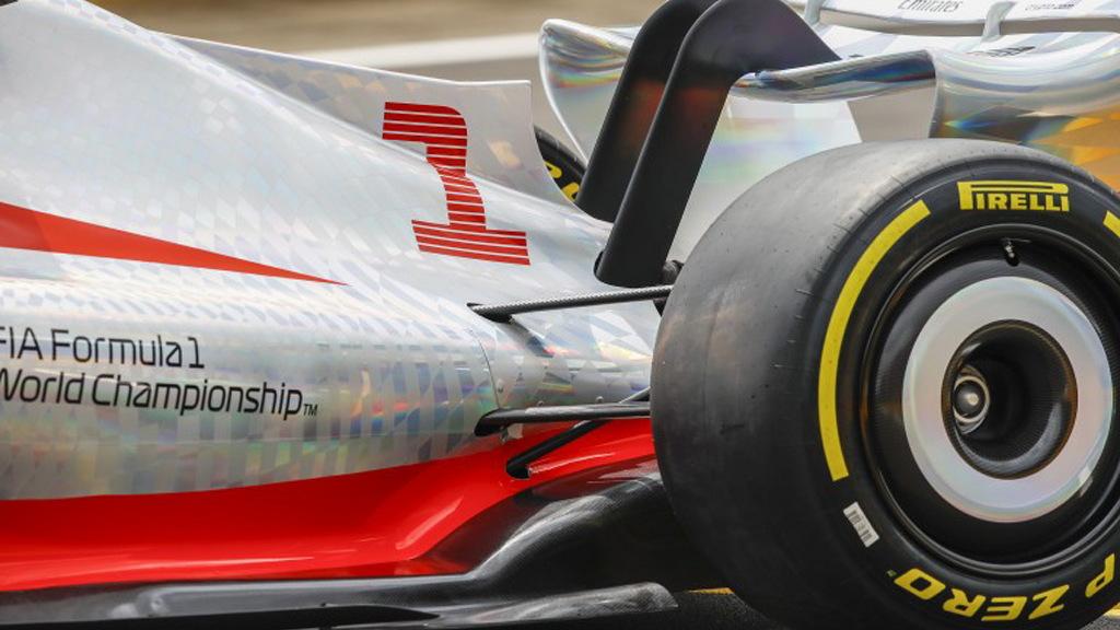 2022 Formula One race car concept