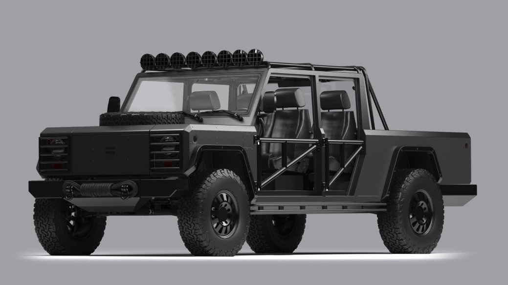 Bollinger B2 rendering with modifications