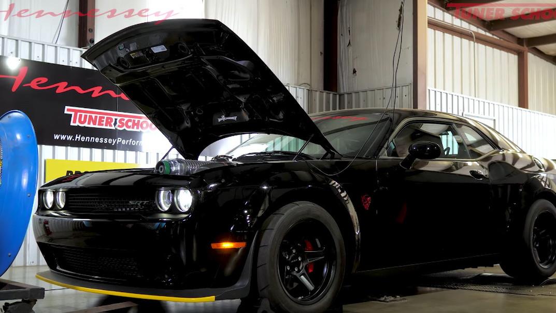 Hennessey Performance tuned Dodge Demon makes 1,013 rear-wheel horsepower