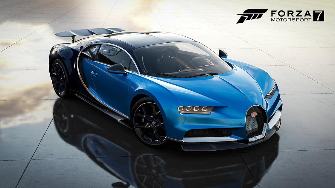 Forza Motorsport 7 Bugatti Chiron
