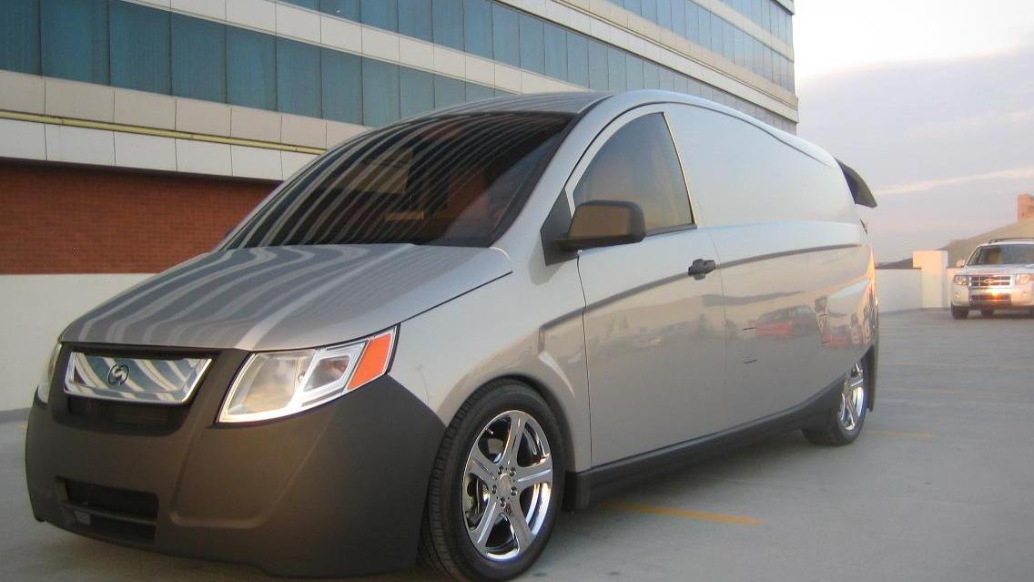 Bright IDEA plug-in hybrid delivery van, prototype