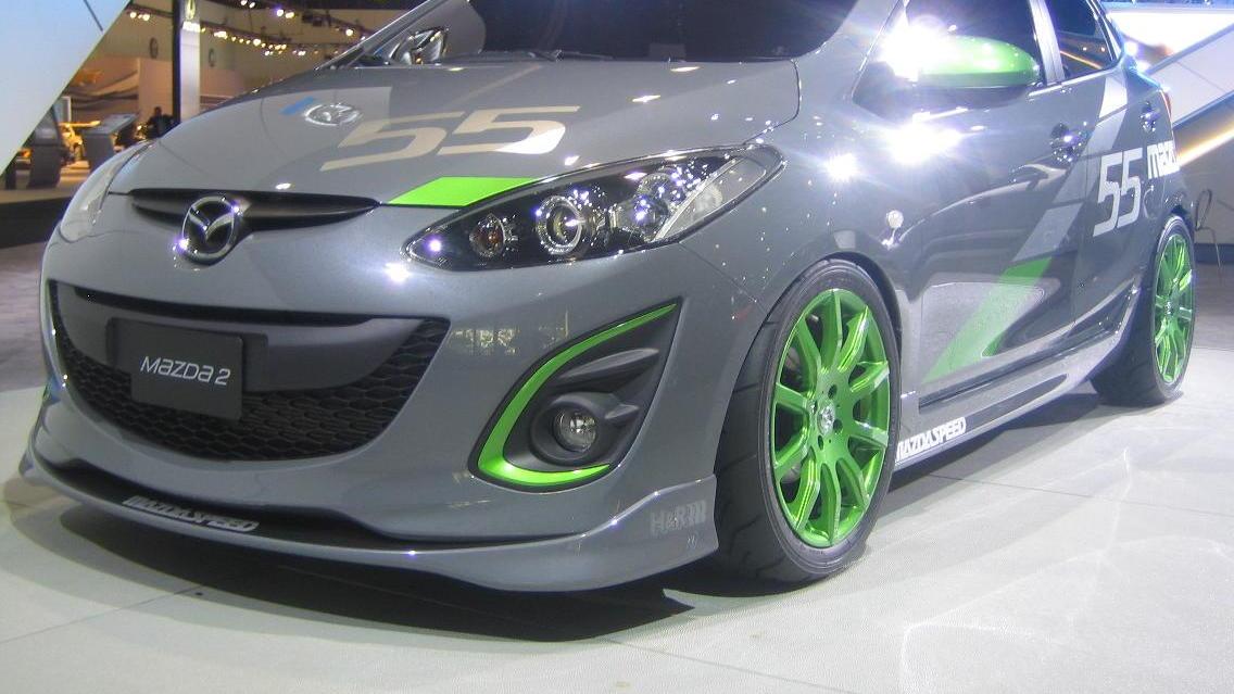 MazdaSpeed2 concept, 2009 Los Angeles Auto Show