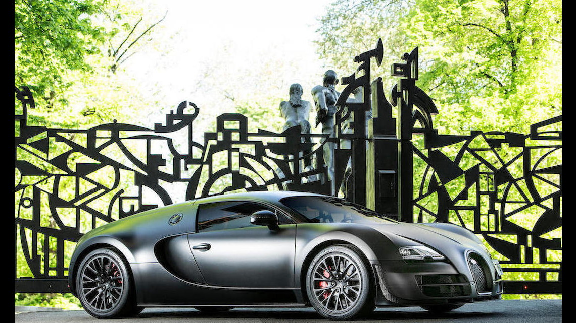 The last Bugatti Veyron Super Sport built heads to auction