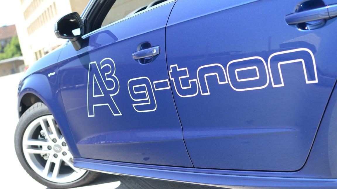 Audi A3 g-tron first drive, Berlin