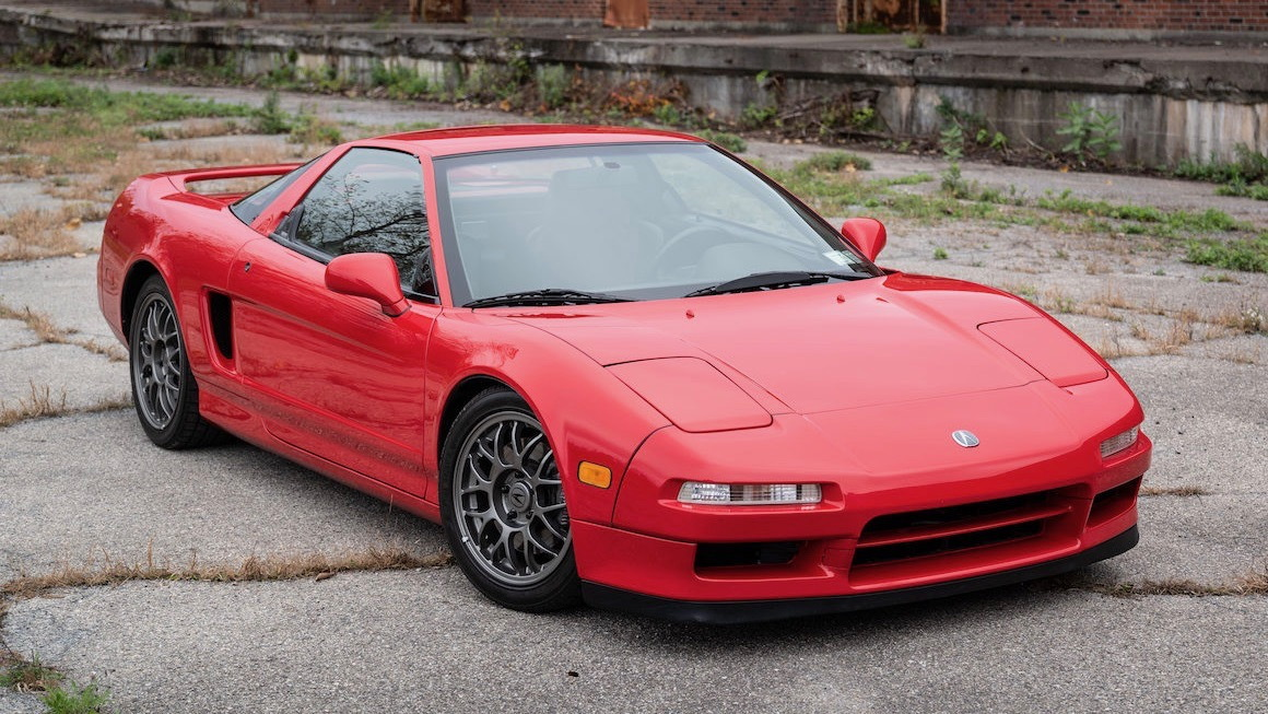 1999 Acura NSX Zanardi Edition (photo by Bring a Trailer)