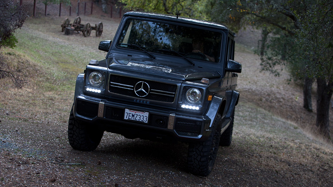 Off-roader built a Mercedes-Benz G-Class pickup because ...