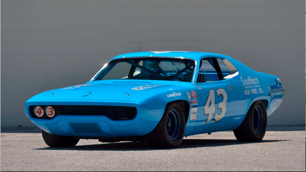1971 Plymouth Road Runner Richard Petty NASCAR
