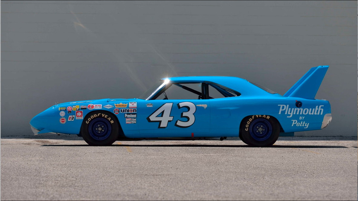 1970 Plymouth Superbird Richard Petty's NASCAR